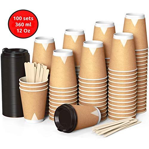 ☑ Gobelet Carton Café pas cher