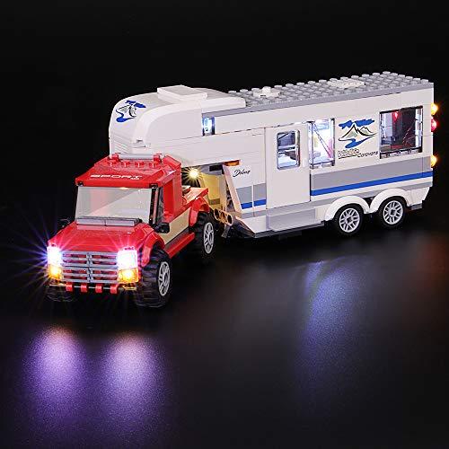 Comparatif des 5 meilleurs Lego City – 60182- Le Pick-Up Et Sa Caravane