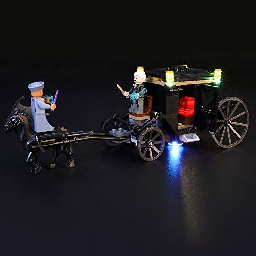 ➢ Comparatif des 2 meilleurs Lego Harry Potter – L'Évasion De Grindelwald – 75951