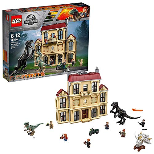 ▷ Promotion Lego Jurassic World – La Fureur De Indoraptor À Lockwood Estate – 75930 : Le Meilleur produit du moment