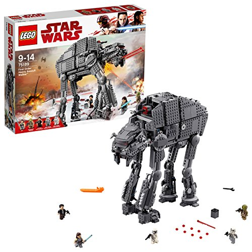 TOP des 2  Lego Star Wars – First Order Heavy Assault Walker – 75189